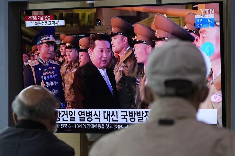"Kim Decries U.S. ""Hostility"""