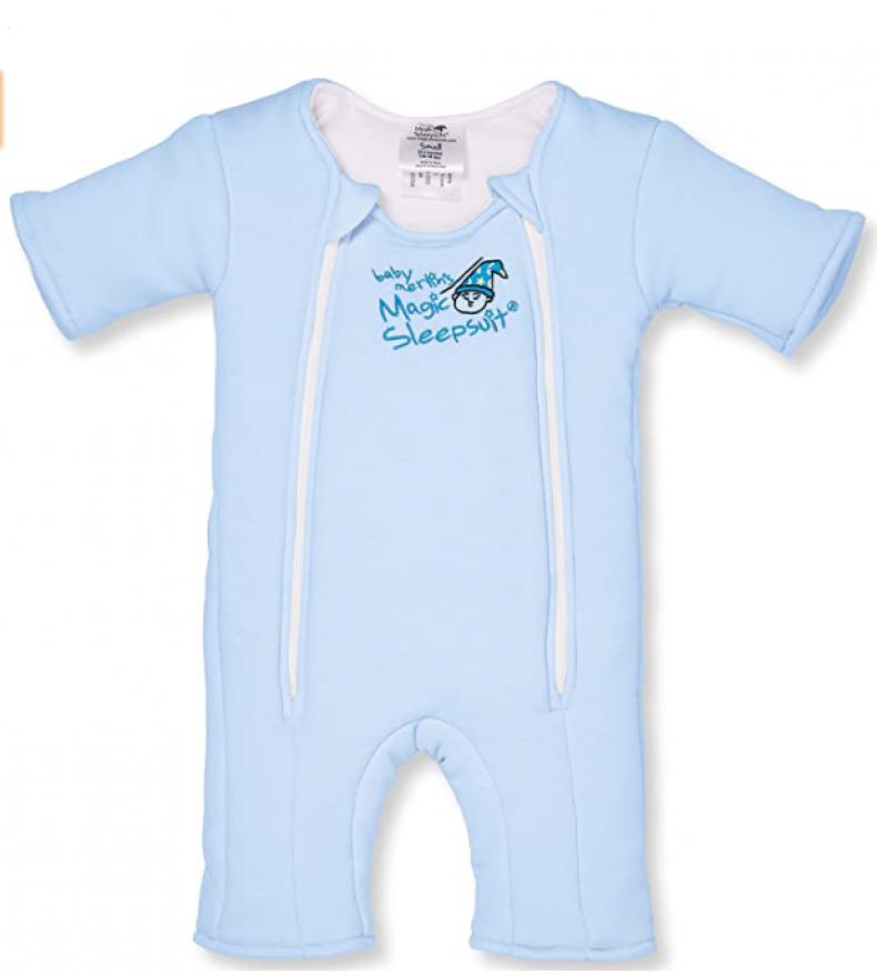 Baby Merlin's Cotton Magic Sleepsuit