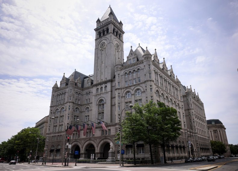 Lease For Trump's DC Hotel Put Up