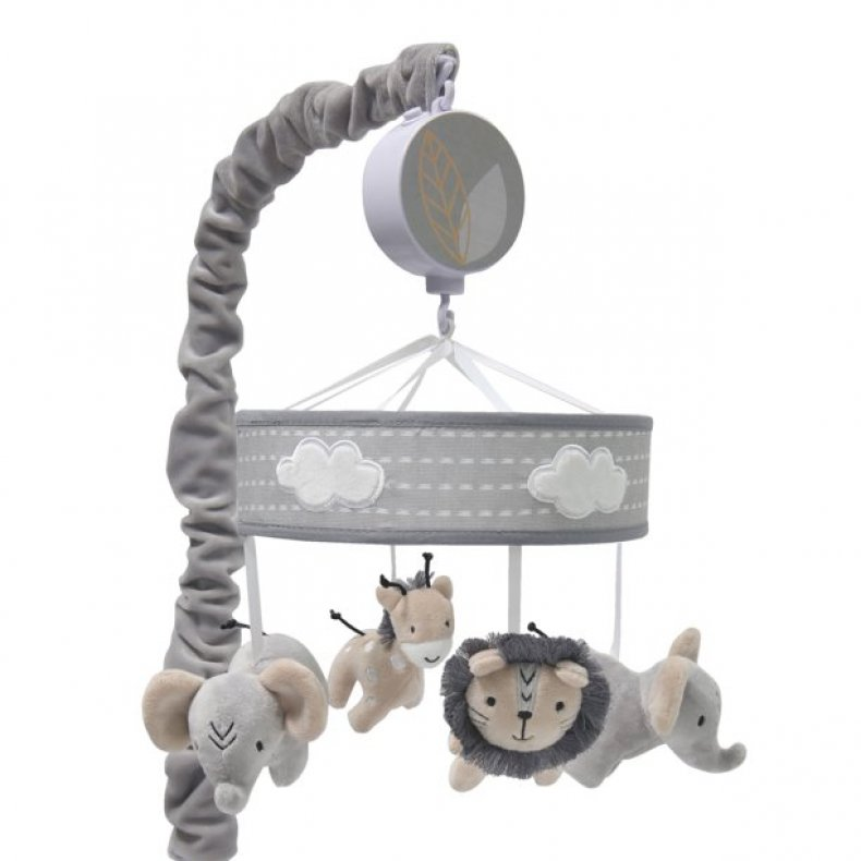 Lambs & Ivy Jungle Safari Musical Baby