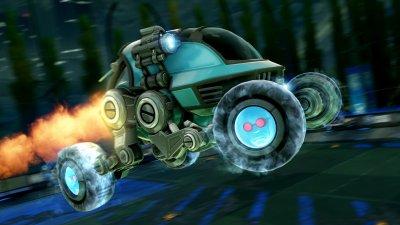 Rocket League Mr Freeze Wheels
