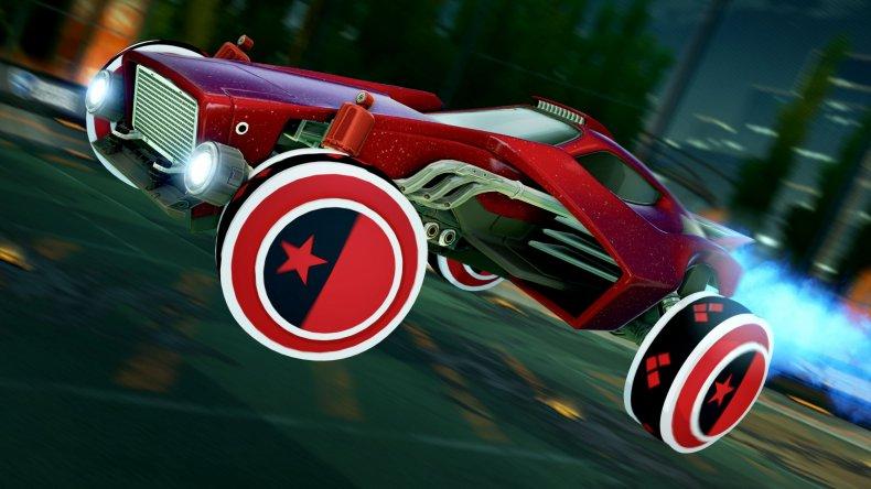 Rocket League Harley Quinn Wheels
