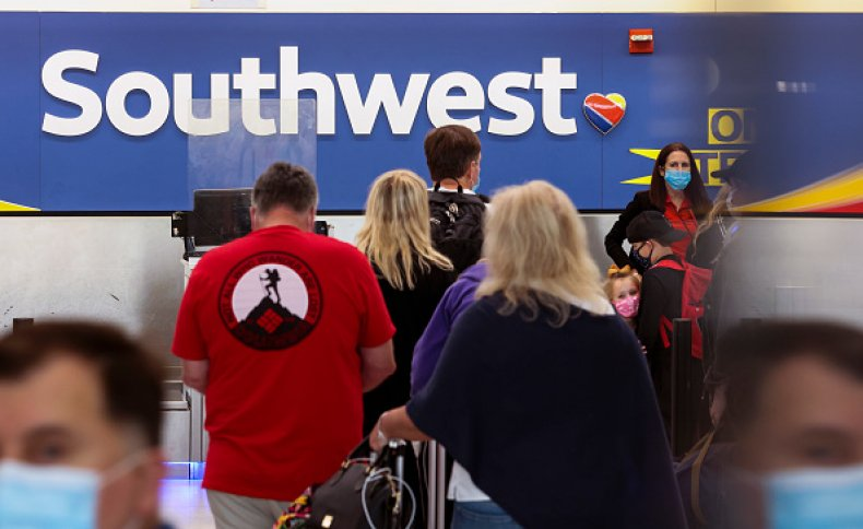 Southwest Airlines Flight Cancelation Passenger Travel Refund