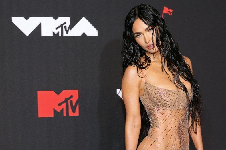 Megan Fox attends the VMAs