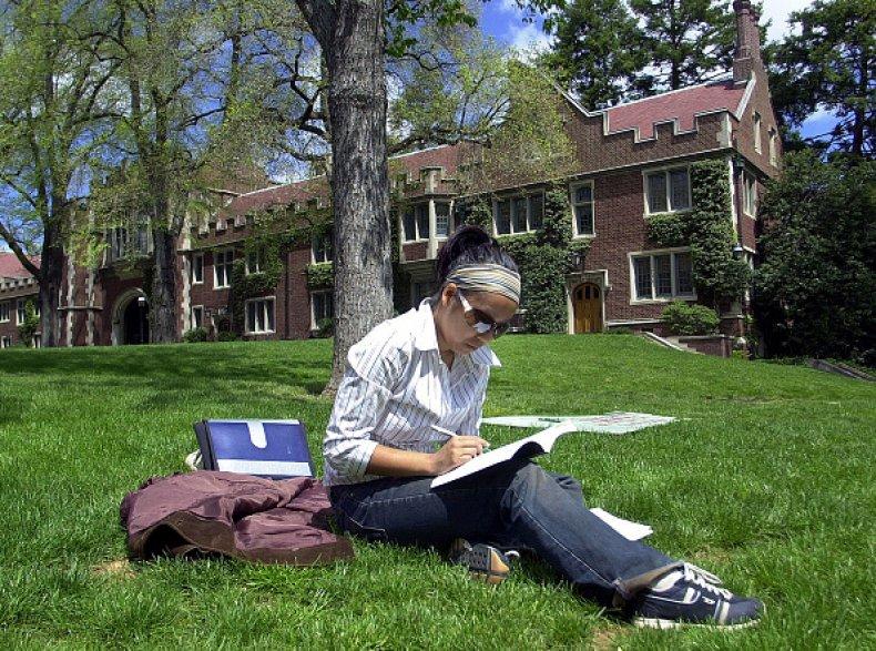 A student at Princeton University