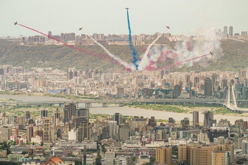 Taiwan, Air, Force, Thunder, Tigers, display