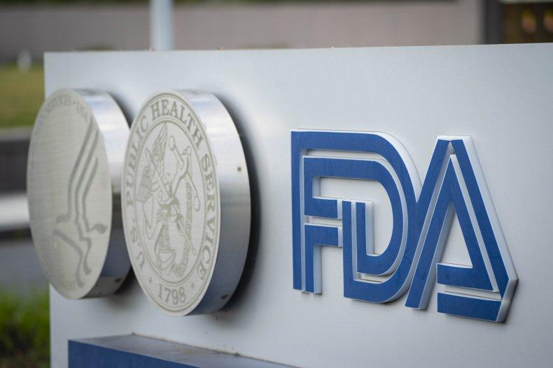 FDA Headquarters Building Sign