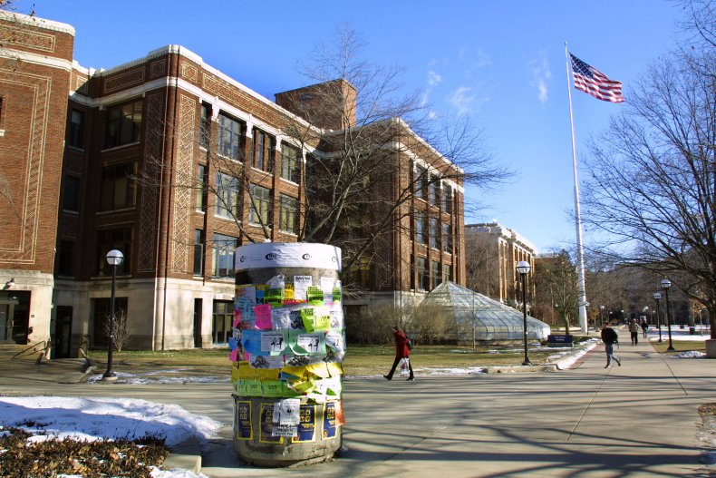 University of Michigan campus in 2003