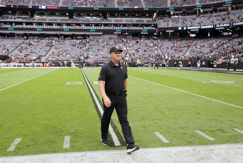Jon Gruden Las Vegas Raiders