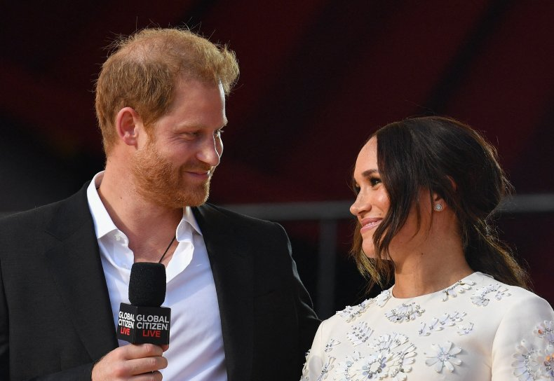 Prince Harry, Meghan Markle at Global Citizen