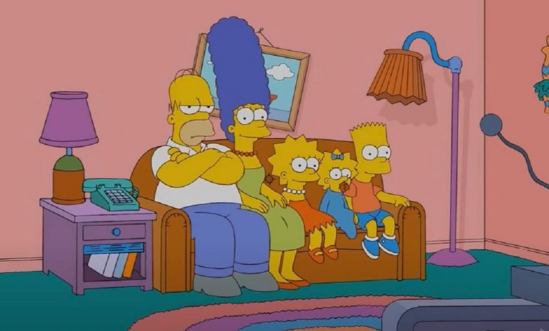 Screengrab from The Simpsons.