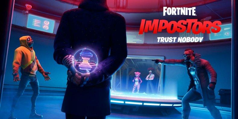 Fortnite Impostors Keyart