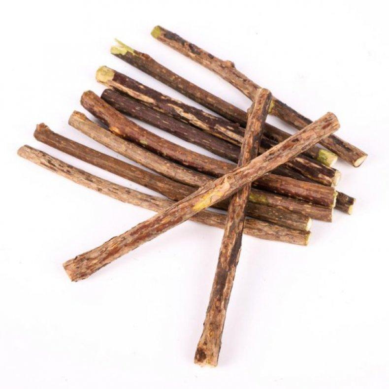 Catnip natural wood Polygonum chewing sticks