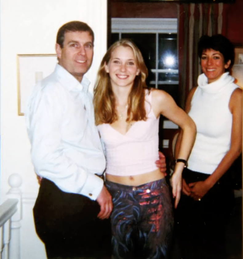 Prince Andrew With Virginia Giuffre