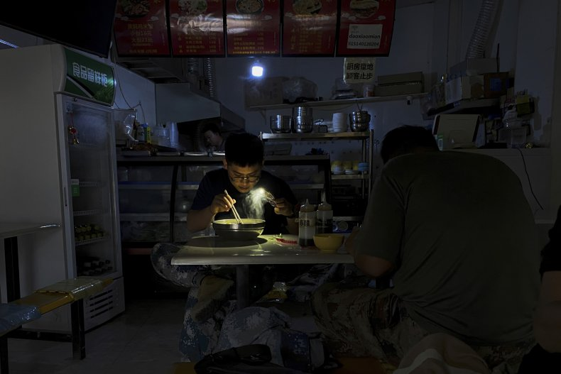 Power Cuts in China