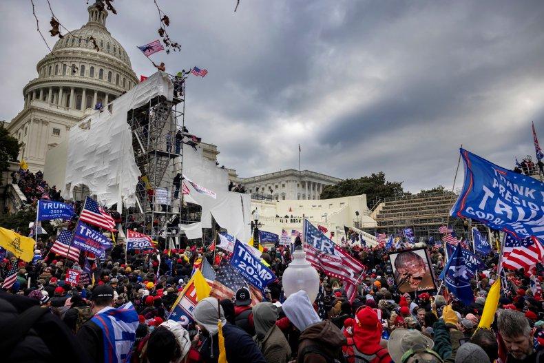 Capitol riot Citizen app