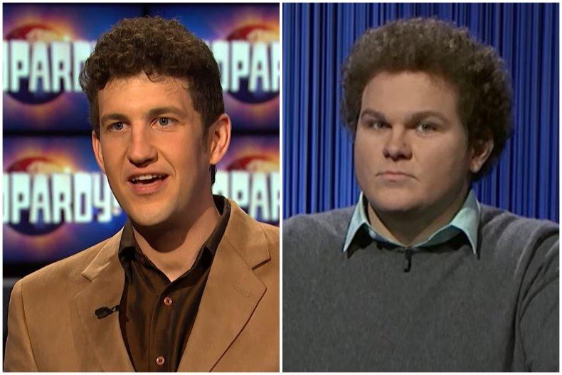 """""""Jeopardy!"""" stars Matt Amodio and Jonathan Fisher"""