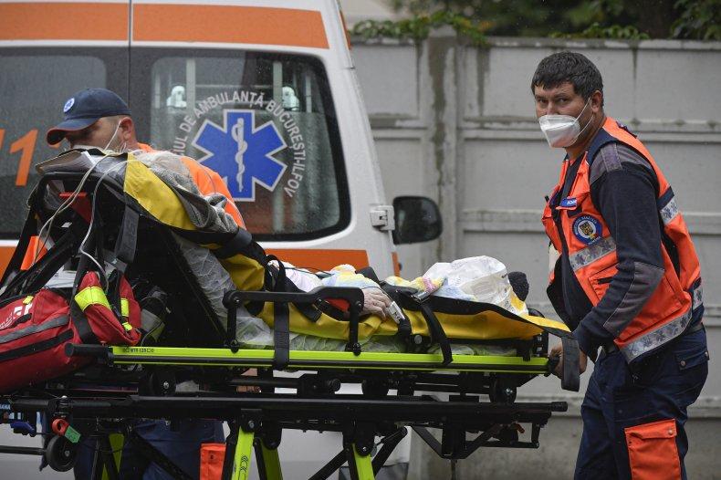 Romania COVID Hospitalizations