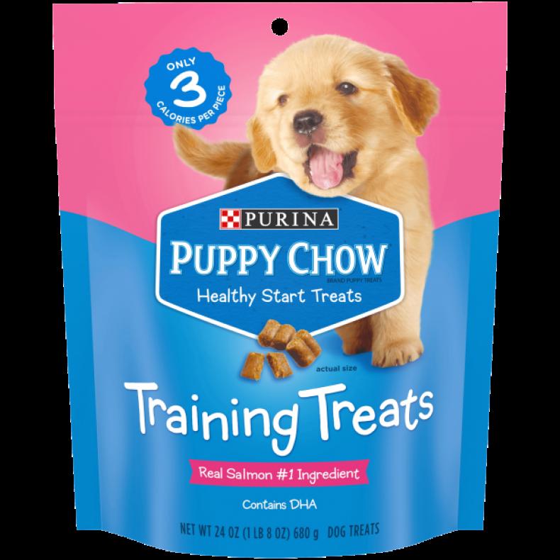 A pack of Purina dog treats.