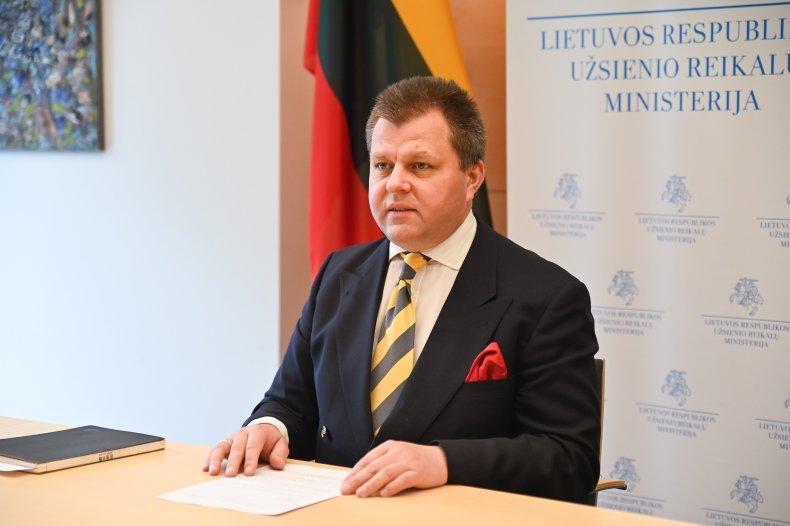 Lithuanian vice minister Mantas Adomėnas Nord Stream
