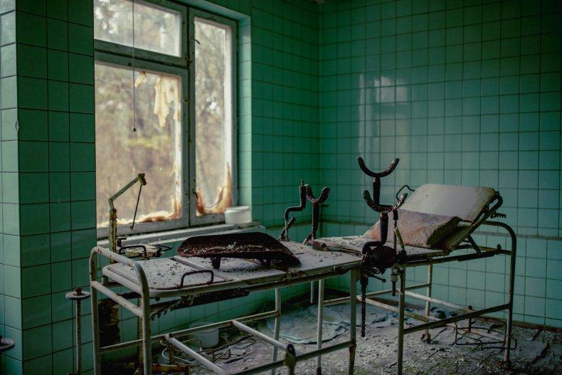 File photo of an abandoned hospital.