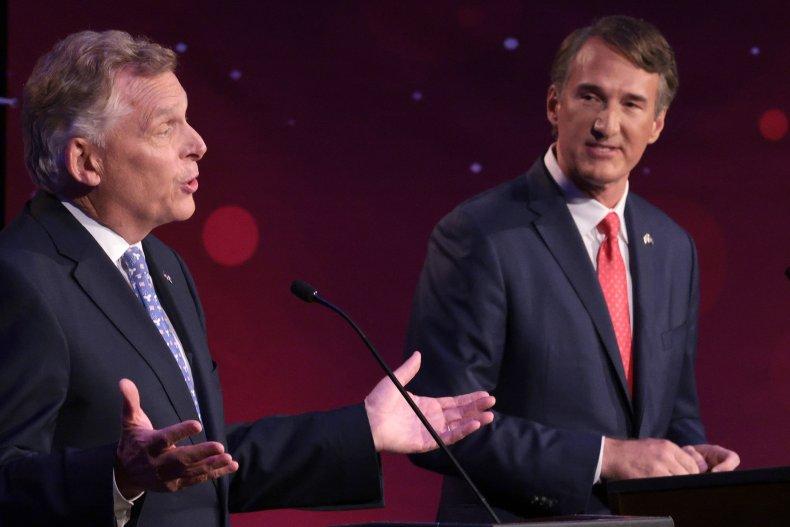 Terry McAuliffe and Glenn Youngkin Debate