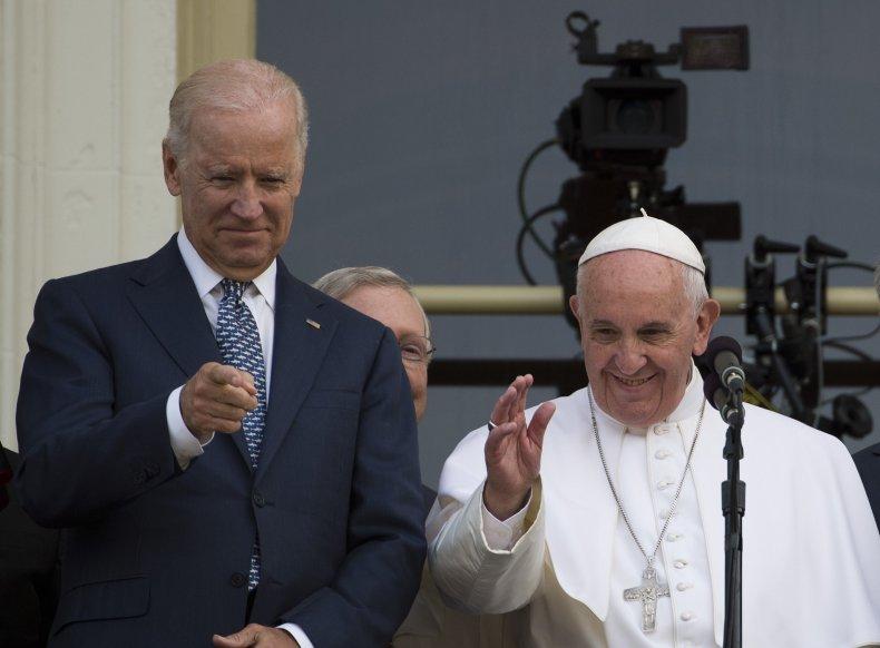Joe Biden to meet with Pope Francis