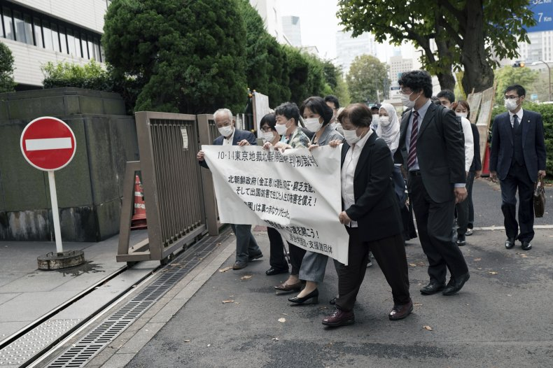 Japanese want compensation for human rights abuse