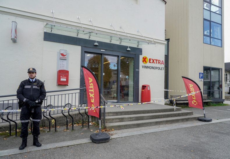 Suspect in Norway Attack