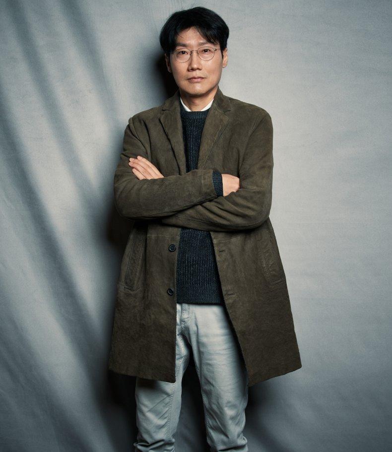 Squid Game director Hwang Dong-hyuk.