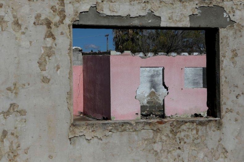 Abandoned Cartel House.