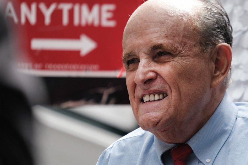 Rudy Giuliani Donald Trump Signed Book Auction