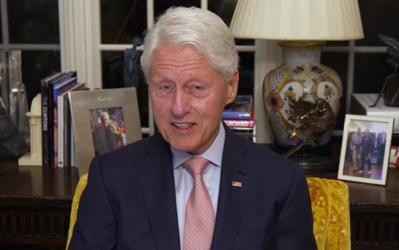 Bill Clinton hospitalized non-COVID infection