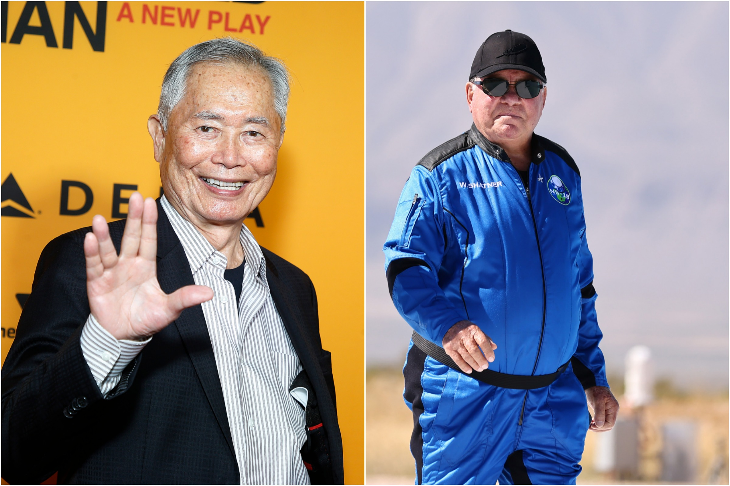 William Shatner Blames 50-year-old Grudge for George Takei Space Trip ...
