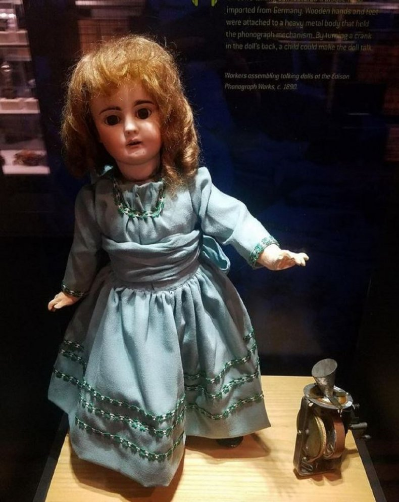 Doll photo from @nationalparkservice