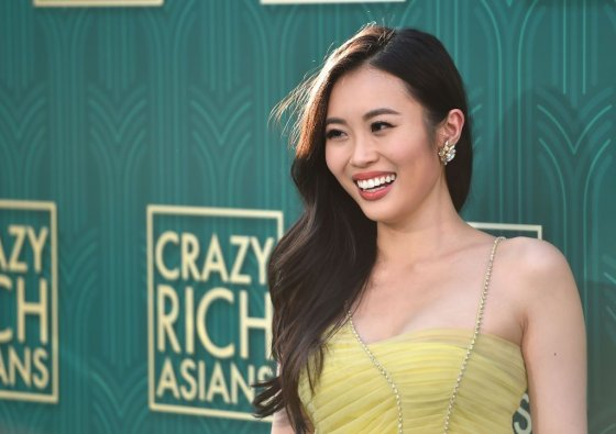 Victoria Loke at Crazy Rich Asians premiere