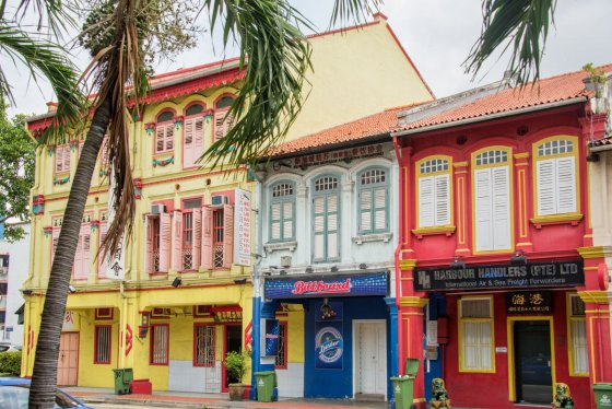 Shophouses in Ann Siang Hill, Singapore