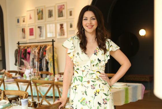 How Tanya Taylor The Designer Whose Styled Aidy Bryant Transformed New York Fashion Week Ss19