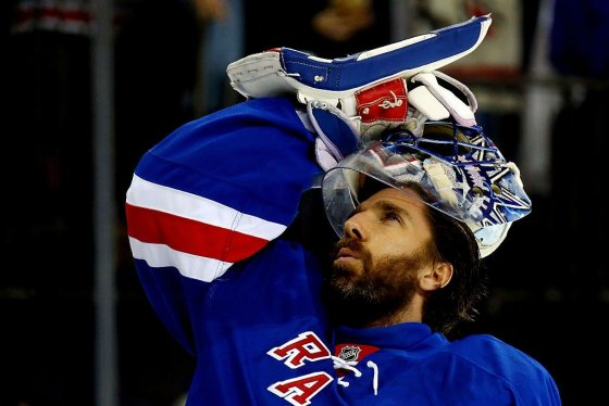 The Countdown Henrik Lundqvist Hits The Home Ice