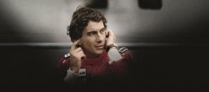 Ayrton Senna On the track