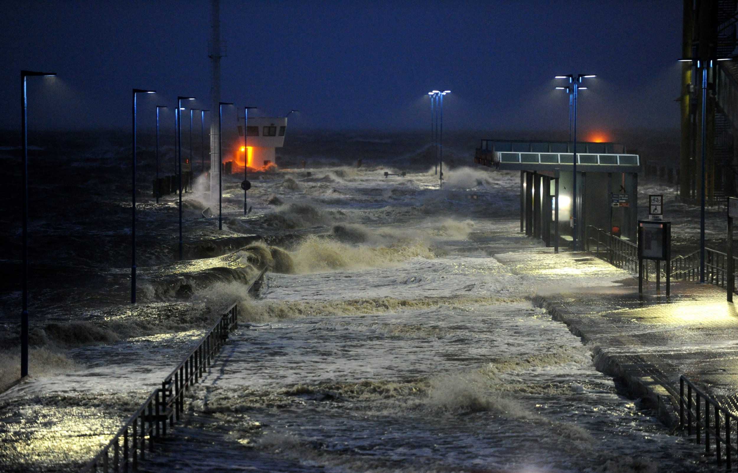 photo essay  storms hammer europe