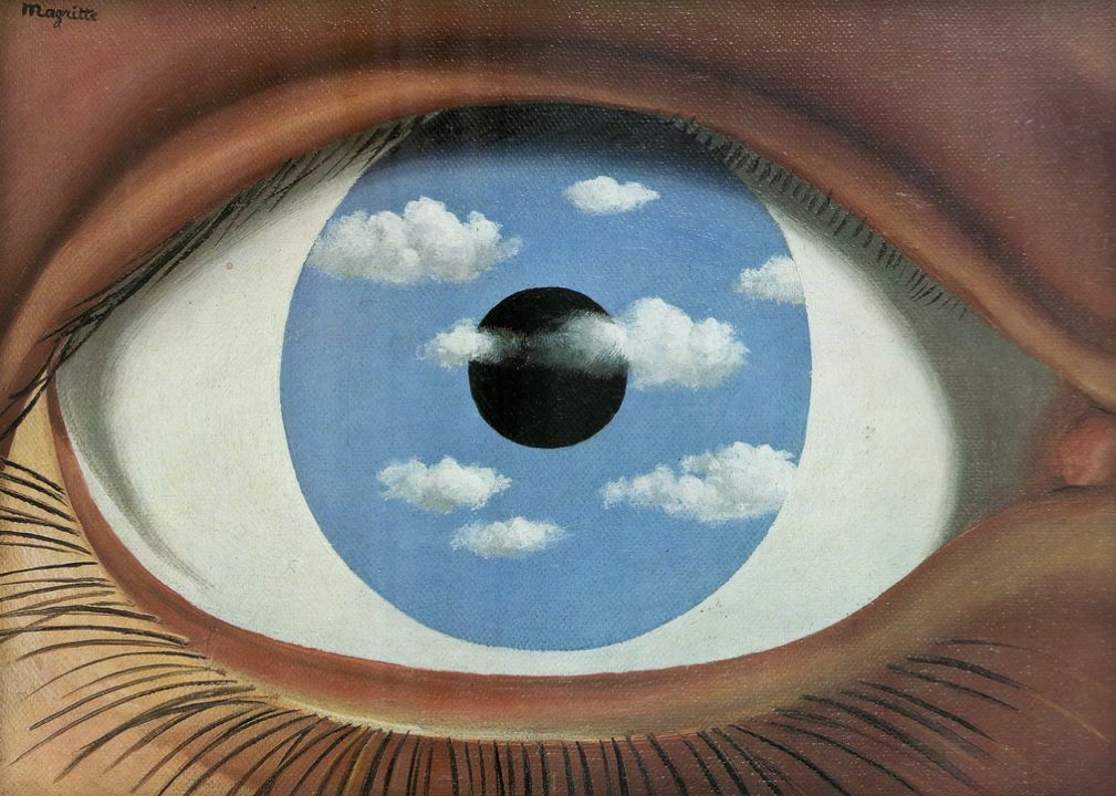 Magritte put to music - Magritte specchio falso ...
