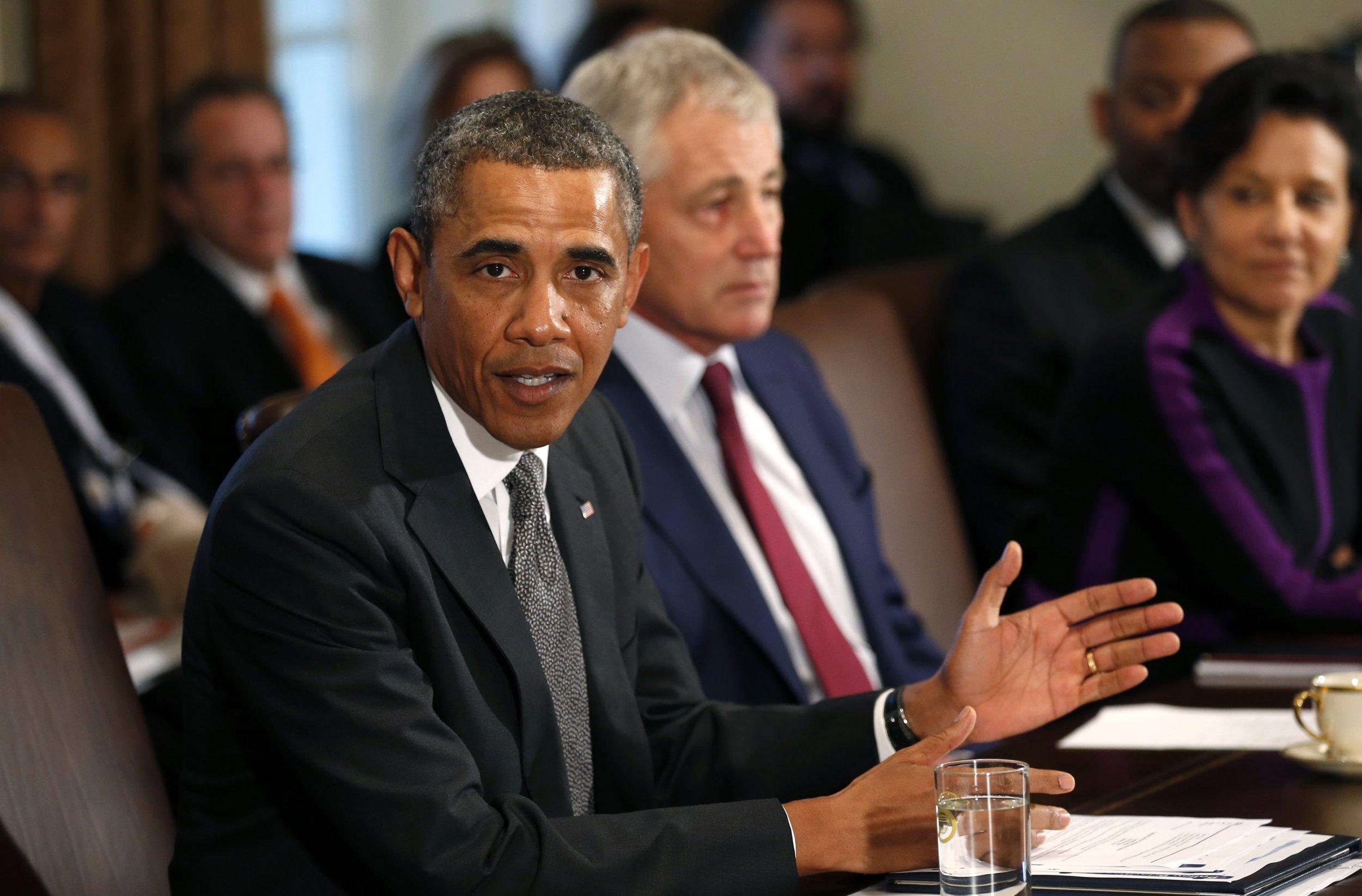 President Obama cabinet meeting