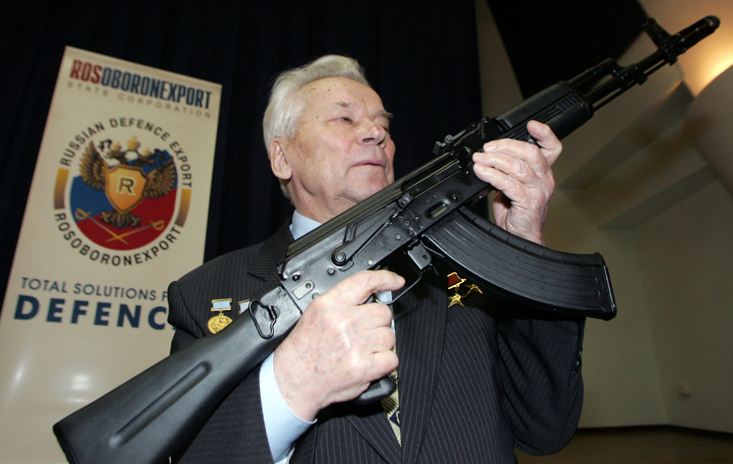 Mikhail Kalashnikov and the AK-47