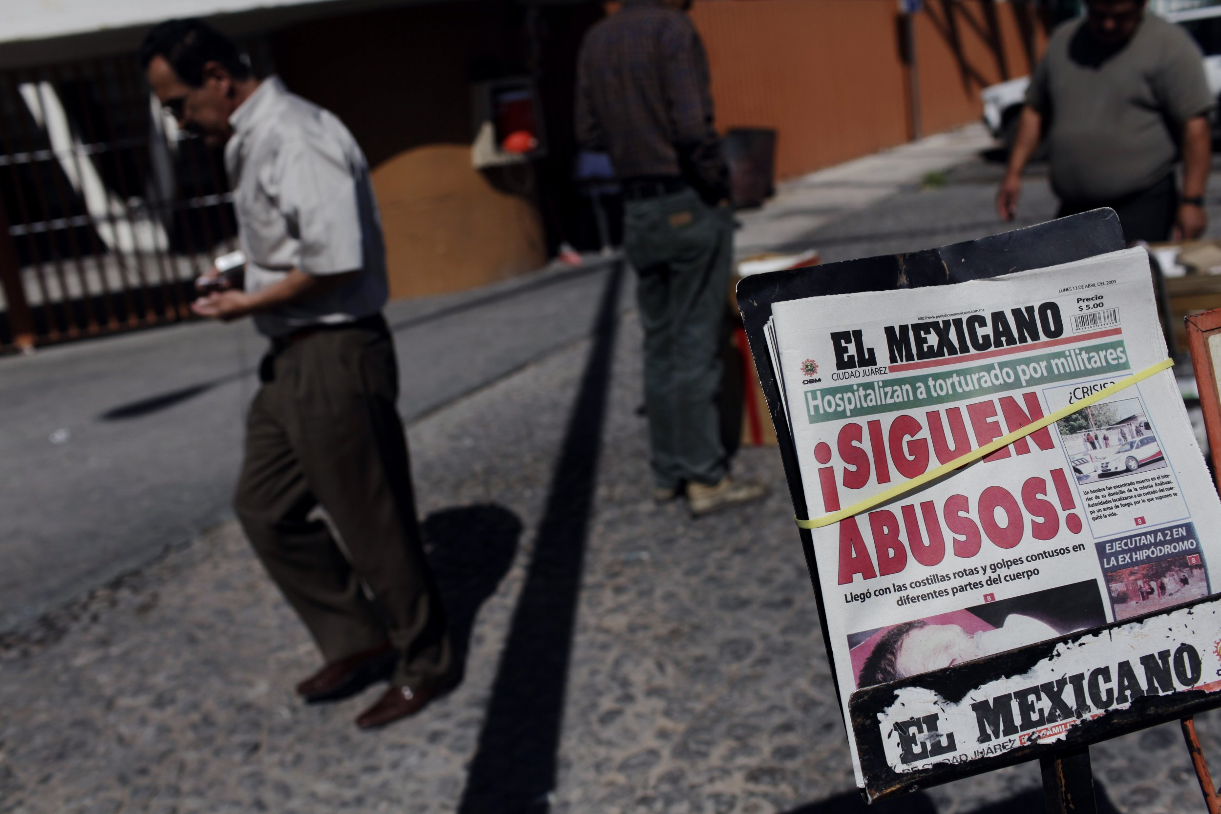 Mexico drug cartels and journalism