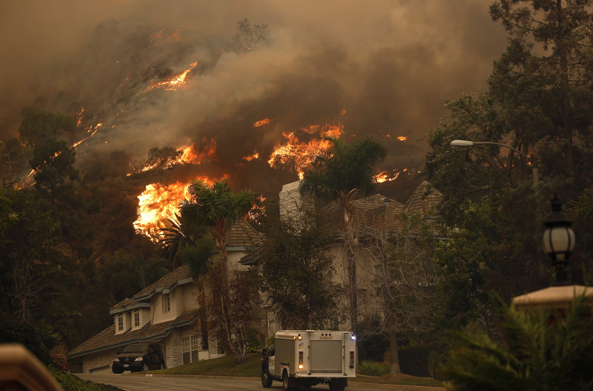 Los Angeles Wildfire