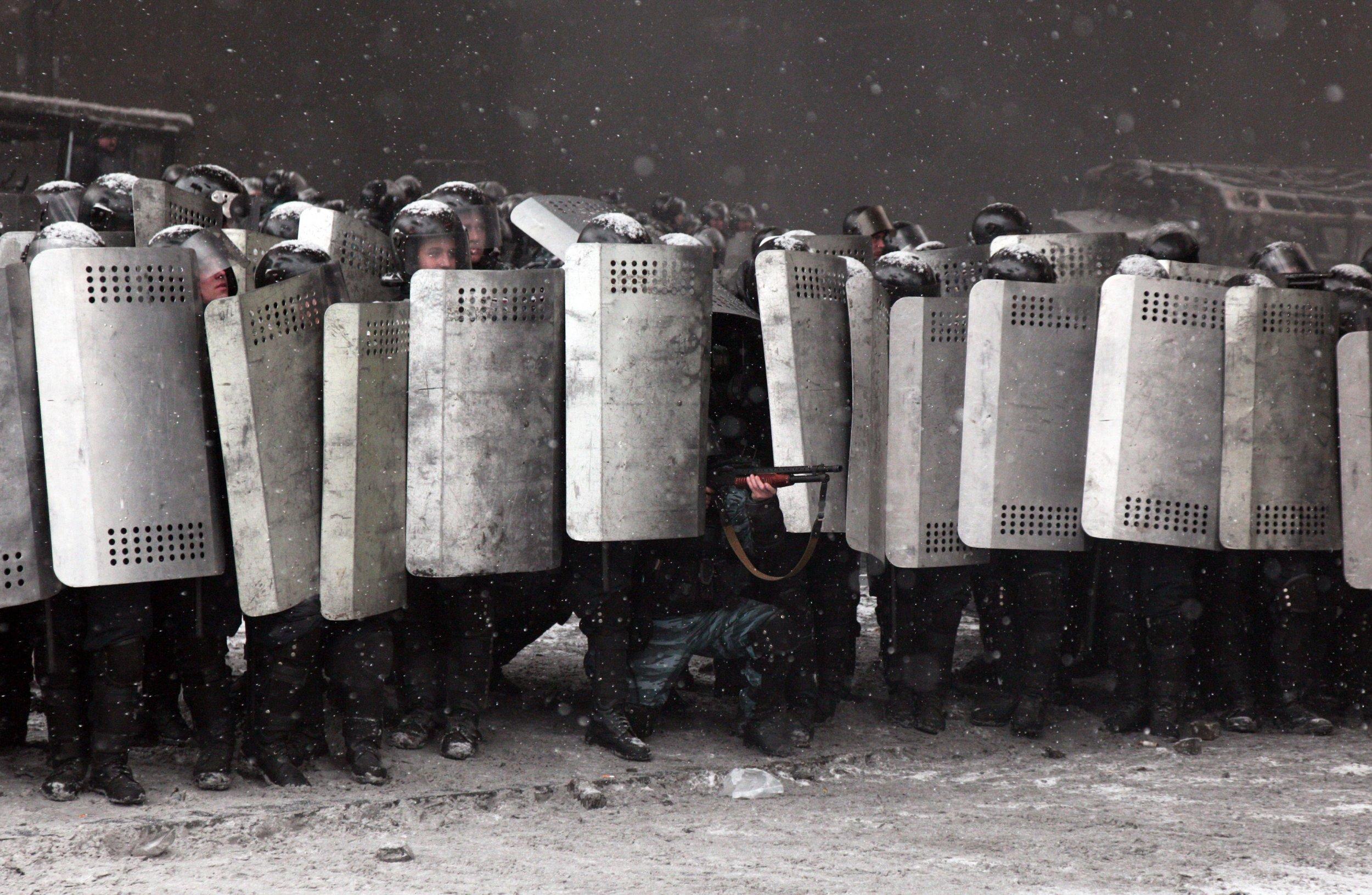 Ukraine protests 1/23