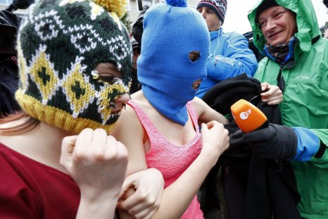 Pussy Riot arrested