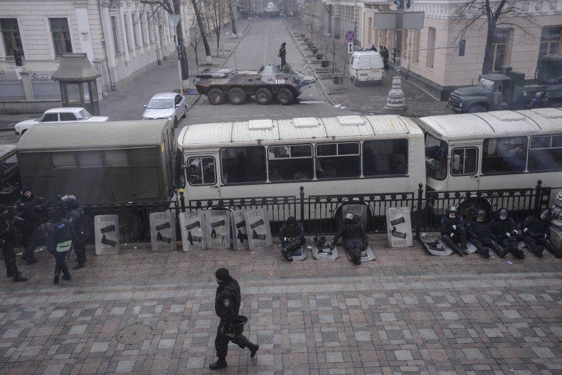 Ukraine riot police