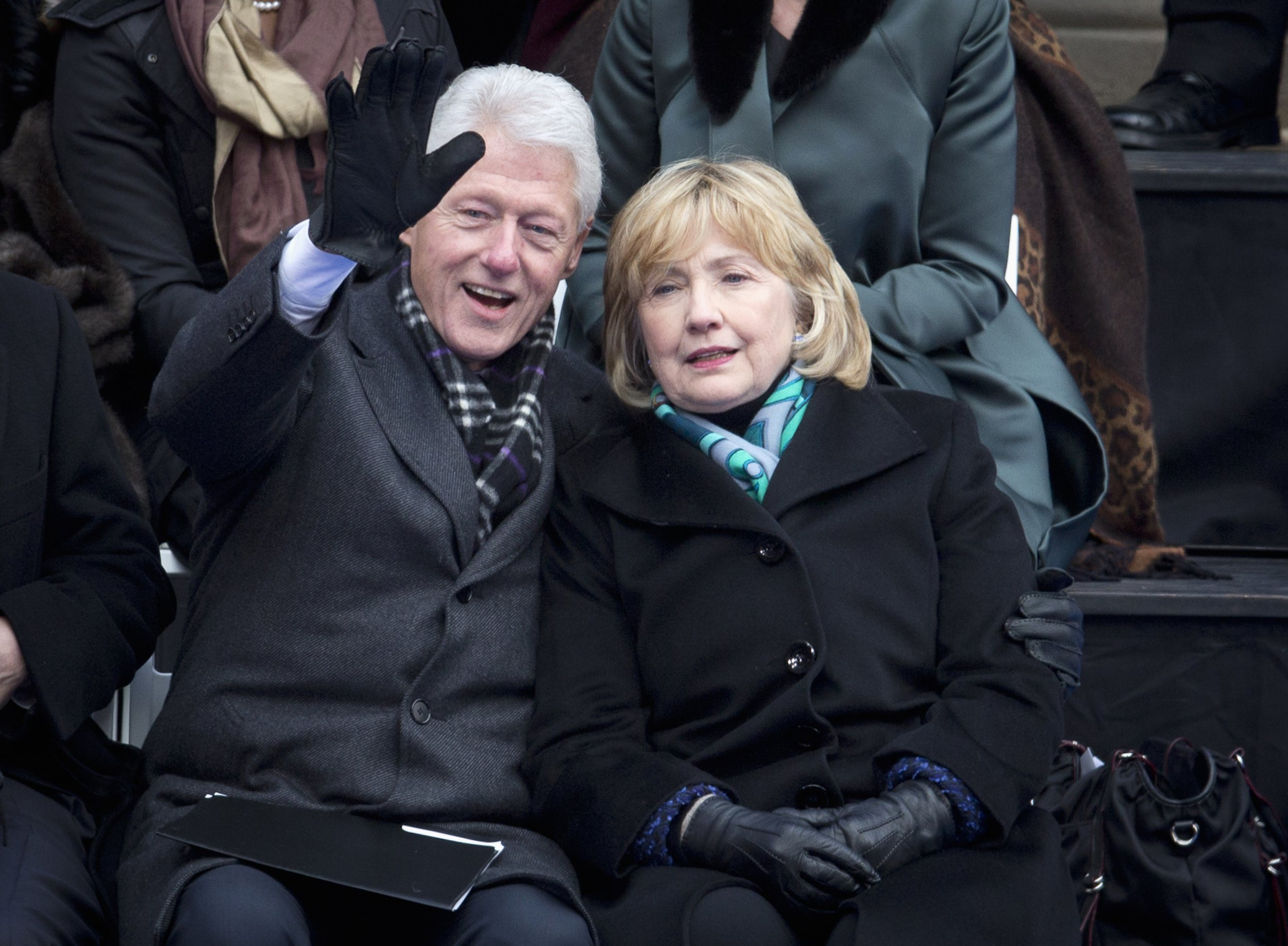 Bill and Hillary ClintonBill Clinton And Hillary Clinton 2014